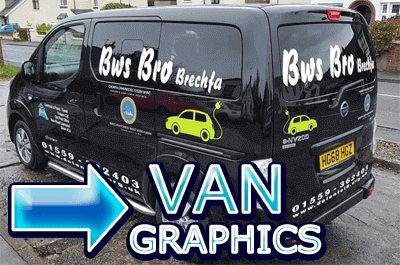 VAN graphics carmarthen