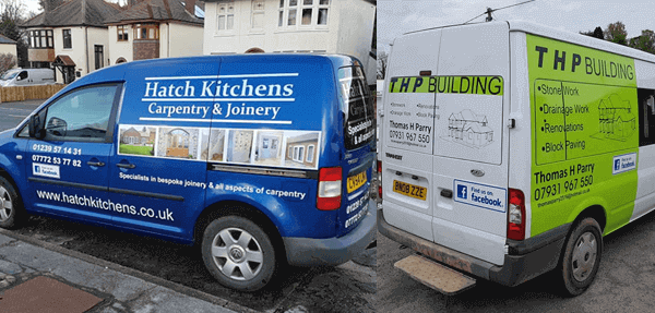 van graphics carmarthenshire